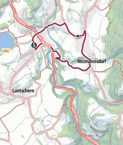 Map / Ritzmannsdorf Tachenberg Weg (Nr. 3)