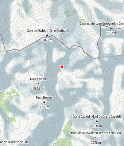 Karte / Refuge de Nice