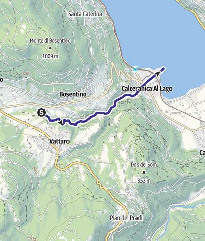Cartina / Rio Mandola F
