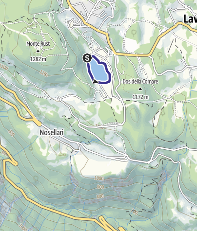 Map / Lago Malga Laghetto M