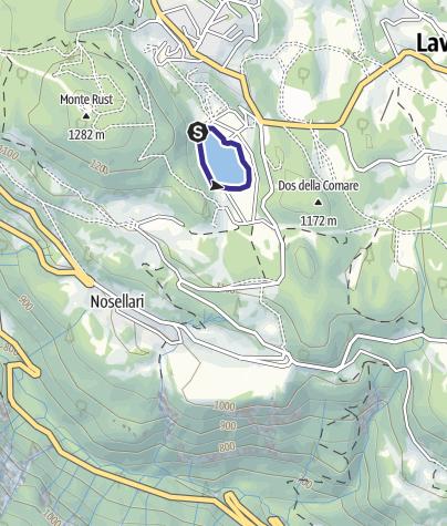Mappa / Lago Malga Laghetto M