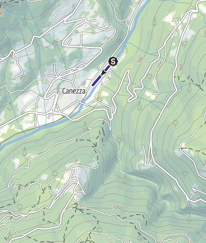Mappa / Laghetto di Canezza N