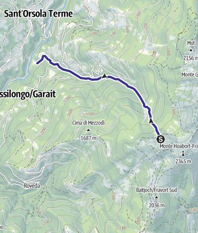 Map / Rio Molini O