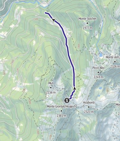 Karte / Rio Valcava R