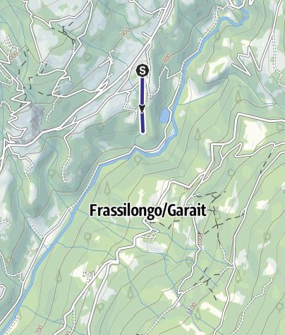 Map / Bacino di Cimadom S