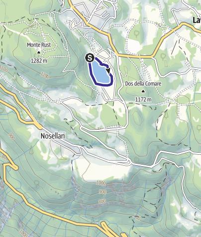 Cartina / Lago di Lavarone T