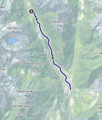 Karte / Torrente Grigno A1