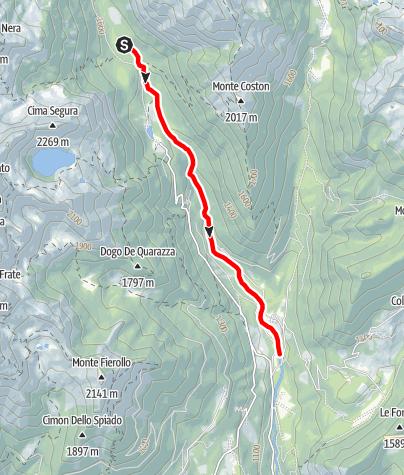 Map / Torrente Grigno A1