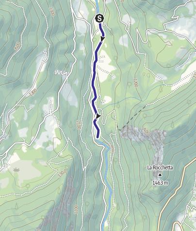 Karte / Torrente Grigno A3