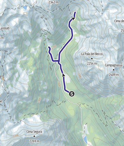 Map / Torrente Grigno A4