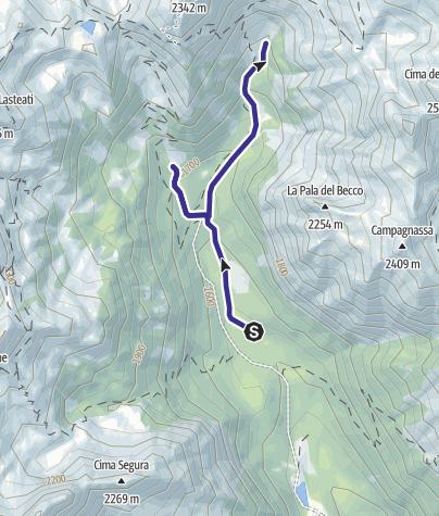 Karte / Torrente Grigno A4