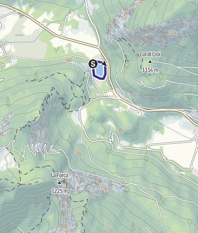 Mappa / Lago di Pradellanno P