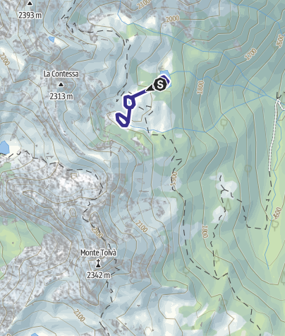 Karte / Lago di Conte Moro S