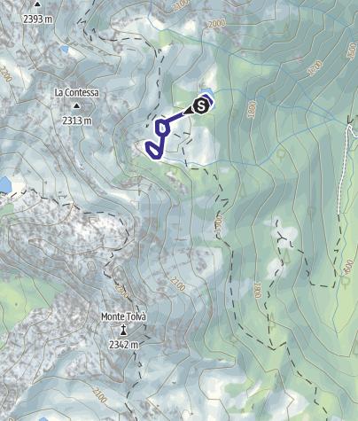 Mappa / Lago di Conte Moro S