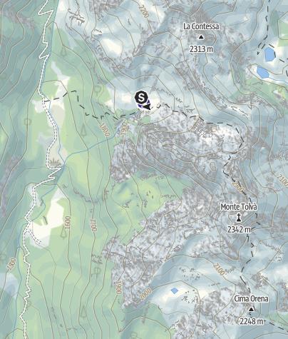 Mappa / Lago degli Asini T