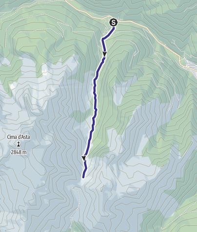 Cartina / Torrente Regana I