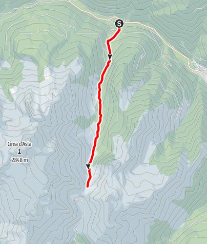 Map / Torrente Regana I