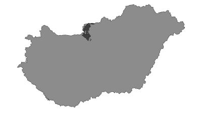 Karte / Duna–Ipoly Nemzeti Park