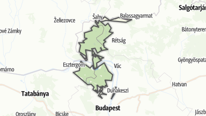 Mapa / Duna–Ipoly Nemzeti Park