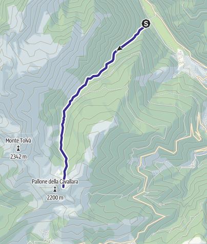 Mappa / Torrente Viosa L
