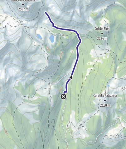 Karte / Torrente Valsorda M2