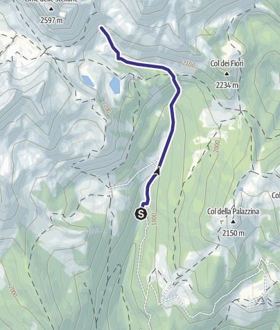 Mappa / Torrente Valsorda M2
