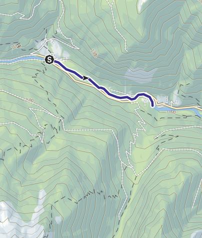 Map / Torrente Vanoi E2