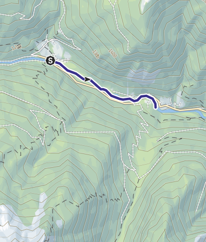 Mappa / Torrente Vanoi E2