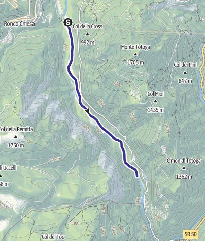 Mappa / Torrente Vanoi E3
