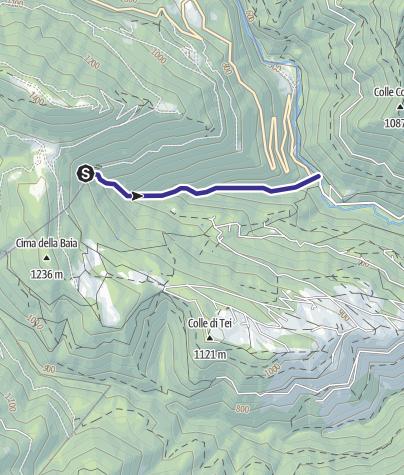 Map / Torrente Senaiga C2