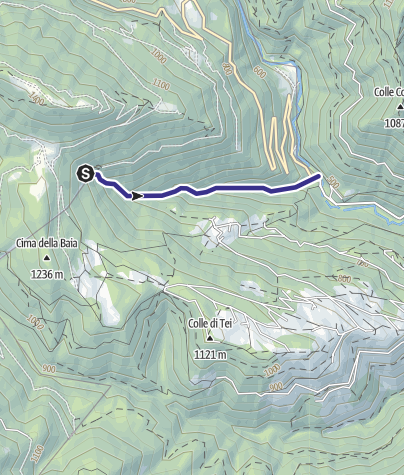 Mappa / Torrente Senaiga C2