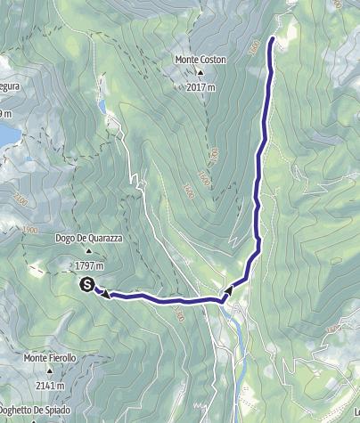 Karte / Rio Tolvà B1