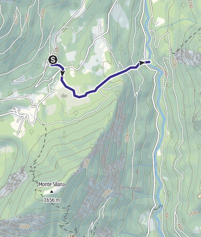 Karte / Rio Acqua Sorda B2