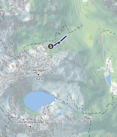 Cartina / Rio Val Vendrame B3