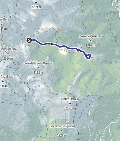 Karte / Rio Quarazza B4