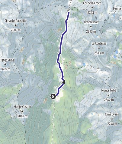Mappa / Rio Tolvà B5