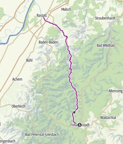 Karte / Tour de Murg