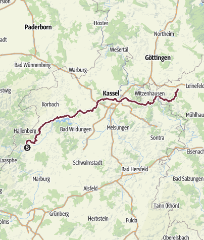 Karte / Herkulesweg