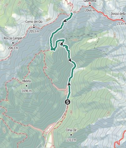 Cartina / Bocca de l'Ussol