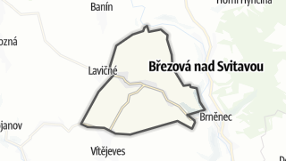 Mapa / Bělá  nad Svitavou