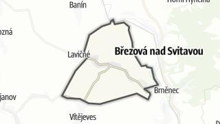 Cartina / Belá nad Svitavou