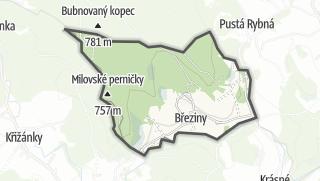 Mapa / Březiny