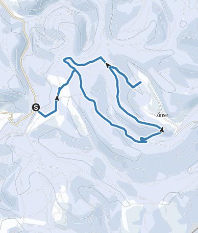 Map / Dreiherrenstein-Loipe