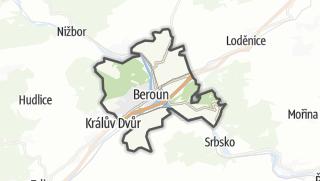 Karte / Beroun