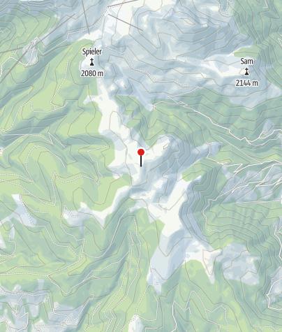 Cartina / Piattaforma panoramica Giogo della croce