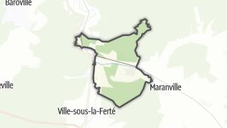 Mapa / Longchamp-sur-Aujon