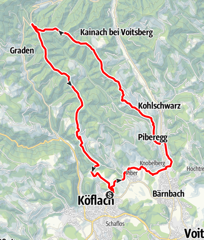 Karte / Wald- und Wiesenidylle