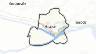 Карта / Malause
