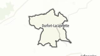 Карта / Durfort-Lacapelette