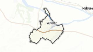 Карта / Auvillar
